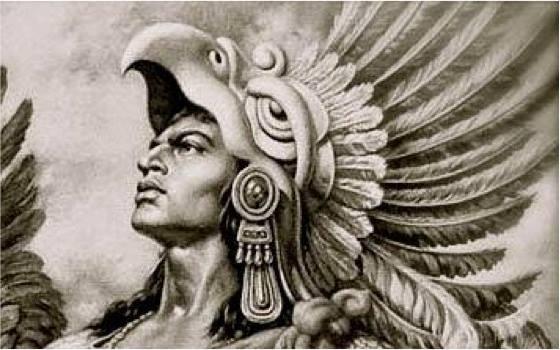 Guerrero águila Azteca Guerreros