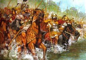alejandro-cruzando-el-granico-con-sus-hetairoi-macedonios
