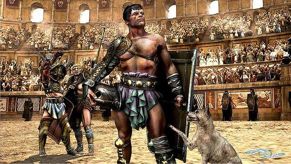 Nuevos luchadores sexuales romanos