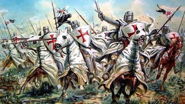 Los templarios en Tierra Santa, los monjes guerreros de Jerusalén