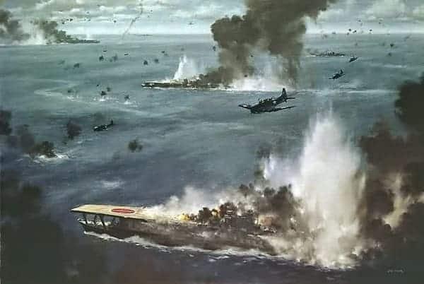 La Batalla del Pacífico Estados Unidos vs Japón