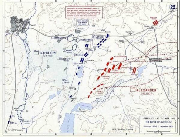 La Batalla de Austerlitz   GUERREROS