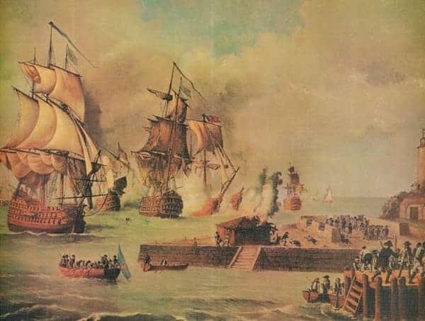 La Batalla De Cartagena De Indias Guerreros De La Historia