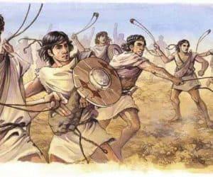 tipos de guerreros honderos