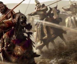 guerreros implacables en la batalla