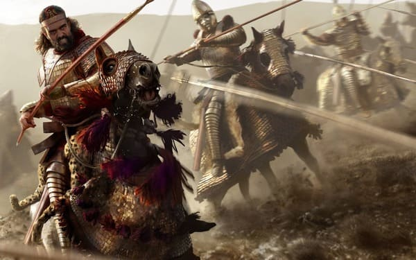 Resultado de imagen de guerreros a caballo