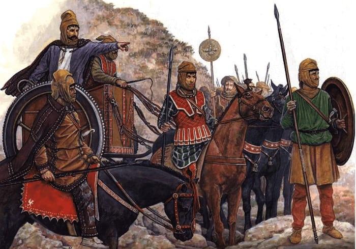 antiguo ejercito persa