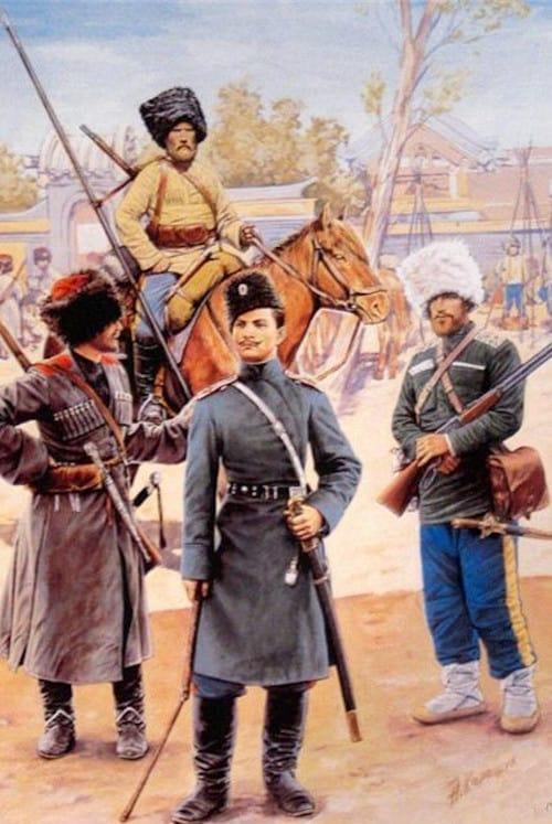 guerreros cosacos