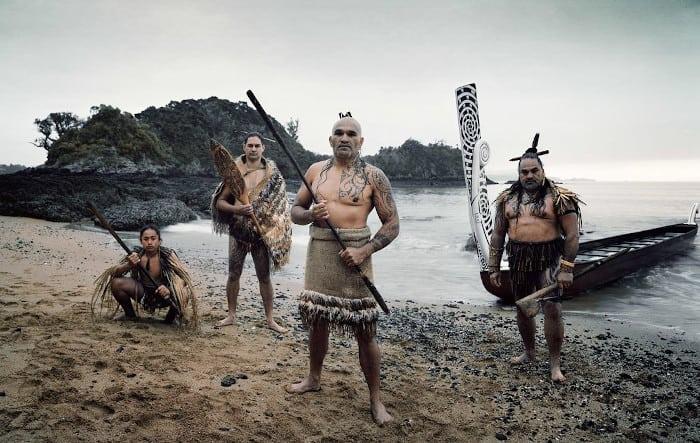 guerreros maories