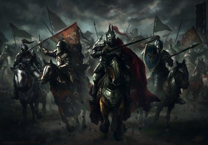 guerreros medievales_2
