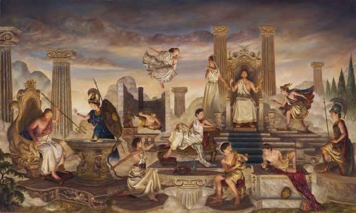 guerreros mitología griega_1