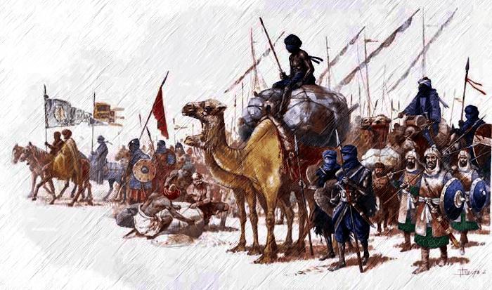 guerreros musulmanes antiguos