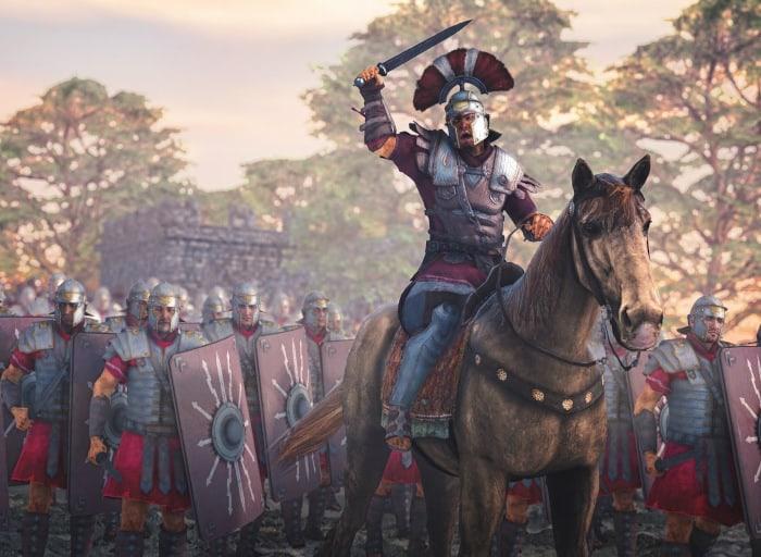 guerreros romanos