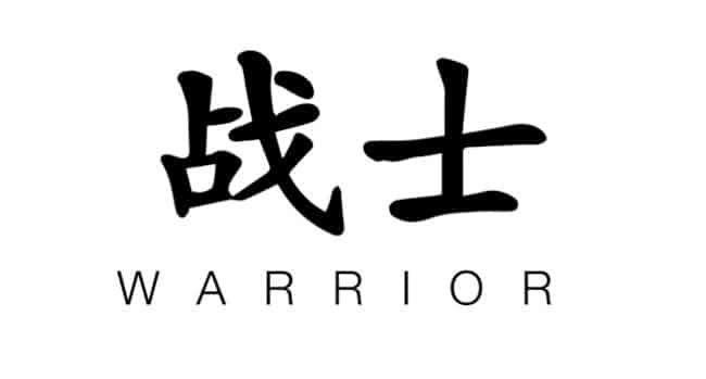 significado palabra guerrero
